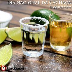 """Dia 13 de setembro, dia nacional da Cachaça. E para """"bebemorar"""", vamos #beber #cachaça www.kardapion.com/beber-cachaca"""