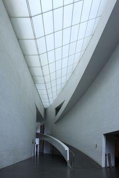 Kiasma museum of contemporary art by Steven Holl in Helsinki, Finland. Photo: L.M. Bregenov