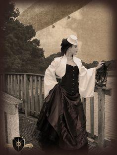 Steampunk Clothing   steampunk steampunk clothing vintage photo steampunk girl zeppelin cog ...