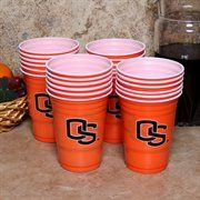 Oregon State Beavers Orange Game Day 24-Pack 18oz. Plastic Cups
