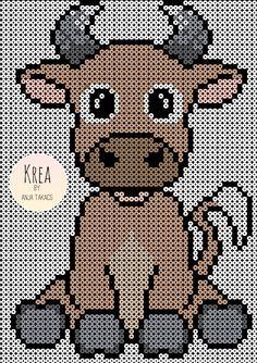 1489315387057 Hama Beads Animals, Beaded Animals, Pearler Bead Patterns, Perler Patterns, Pixel Crochet Blanket, Hama Beads Design, Peler Beads, Melting Beads, Perler Bead Art