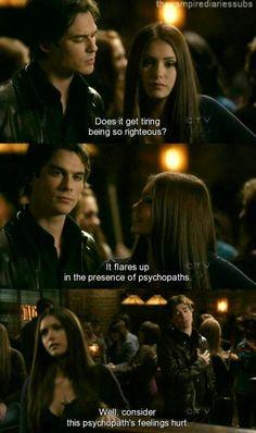 Delena. The Vampire Diaries
