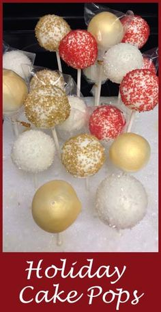 Easy tips for making festive Cake Pops