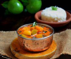 Mangalorean Mavinakayi Menasinakai Curry Recipe | Raw Mangoes in Coconut Based Gravy