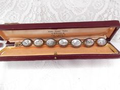 Antique Vintage Bracelet With Original Box by GoodGoodyGirlsJewels, $168.00