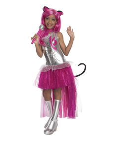 Monster High Silver Catty Noir Dress-Up Set - Kids