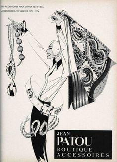 Jean Patou Boutique ad, L'Officiel 604, 1973