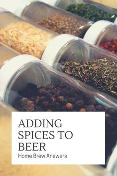 Spices To Your Home Brew Adding spices to your home brew beer is simple with this guide.Adding spices to your home brew beer is simple with this guide. Beer Brewing Kits, Brewing Recipes, Homebrew Recipes, Beer Recipes, Coffee Recipes, Make Beer At Home, How To Make Beer, Ginger Ale, Brew Your Own Beer