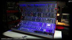 C7 #Eurorack cabinet prototype
