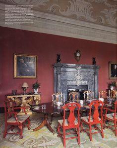 27 immagini fantastiche di russborough house home for Elle decor interni