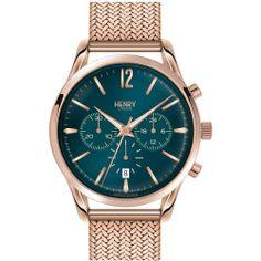 Women's Henry London 'Stratford' Chronograph Mesh Strap Watch, 38Mm