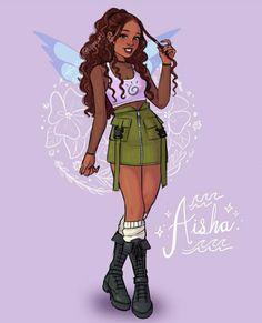 Black Girl Art, Art Girl, Vintage Cartoon, Cartoon Art, Winx Cosplay, Phantom Cartoon, Les Winx, Body Drawing Tutorial, Bloom Winx Club