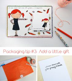 Packaged Pretty (Cupcakes for Clara) - packaging & branding tips from Oh My Handmade Goodness