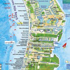 Caribbeanmapcaymanislandsside2zoom Png 648 Pixels