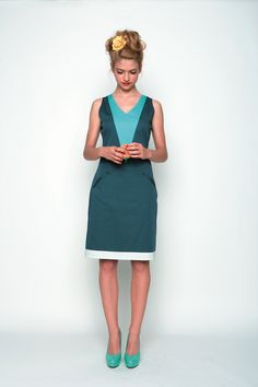 Skunkfunk USA: NAROA-102 Spring Summer 13 Women's DRESS, Fabric Content: 74% cotton + 23 % nylon + 3% elastane, Sustainable Fashion, Eco-Friendly Clothing, Fair Trade Clothing, European Chic