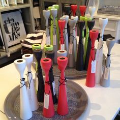 in any color in any combination original Rolf™ candlesticks by freemover.se Maria Lovisa Dahlberg