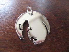 Lizard Necklace Pendant
