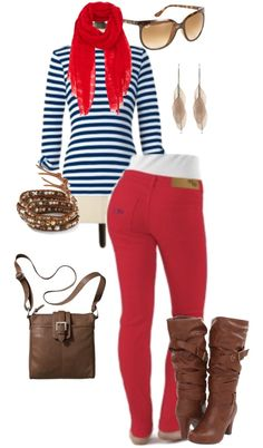 """Ole Miss in Style"" by meeshandmia on Polyvore"