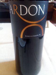 Vino tinto tempranillo 2012 de Bodegas Zardón,  de la D.O. Vino de la Tierra de Castilla y León