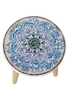 Ellos Home Taburet Marocco Multi - Stole & skamler Decorative Plates, Chair, Tableware, Furniture, Zentangles, Home Decor, Dekoration, Dinnerware, Decoration Home