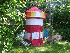 Speeltent Vuurtoren van Hanging Houses / Playing tent Lighthouse from Hanging Houses