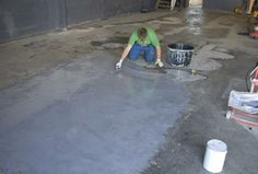 CONSEAL SL is ideal for repairing damaged concrete floors.