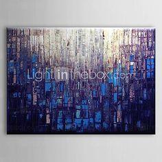 [EUR € 82.49] Hand geschilderd olieverfschilderij Abstract 1305-AB0579