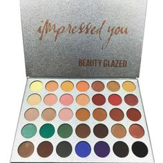 35 Colors Pearly Waterproof Make Up Palette