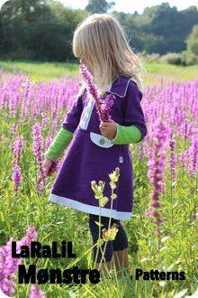 Cute Scandinavian Sweatshirt Dress!