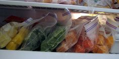 Learn about freezing your homemade baby food safely and easily with these tips and photos.