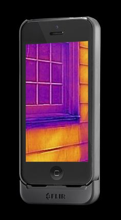 FLIR ONE is a personal thermal imaging device by commercial thermal imaging company FLIR that is compatible with the iPhone 5 and iPhone 5s.