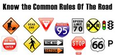 Know the common road rules Theory Test Questions, Hazard Perception Test, Practical Test, Road Rules, Driving Tips, Study Materials, Growing Up, This Or That Questions, Grow Taller