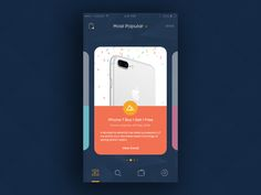Coupon Promo App Screen by Intuz