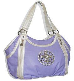 Purple Fleur De Lis Handbag Handbags, Bling & More! http://www.amazon.com/dp/B009ASSDKC/ref=cm_sw_r_pi_dp_a46Xub1YBPTN9