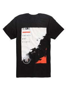 """<i>I'm falling so I'm taking my time on my ride...</i><br><br>Black T-shirt from Twenty One Pilots with a """"Ride"""" inspired design on the front.<br><ul><li style=""""list-style-position: inside !important; list-style-type: disc !important"""">100% cotton</li><li style=""""list-style-position: inside !important; list-style-type: disc !important"""">Wash cold; dry low</li><li style&#x..."""