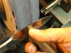 Grinding Tips - Promethean Knives
