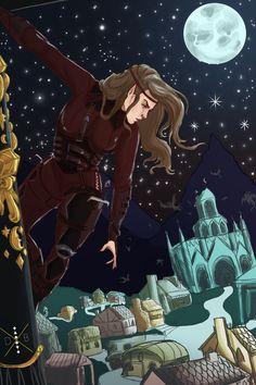 Feyre in Velaris when it was attacked. Feyre Cursebreaker, Defender of the Rainbow. ♡