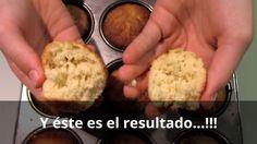 Magdalenas, muffins, muffins rápidos, muffins fáciles