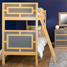 The Max Bunk Bed is the perfect piece of furniture for your little one