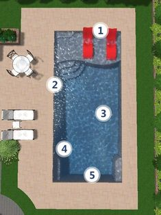 Having a pool sounds awesome especially if you are working with the best backyard pool landscaping ideas there is. How you design a proper backyard with a pool matters. Small Backyard Pools, Backyard Pool Landscaping, Backyard Pool Designs, Small Pools, Swimming Pools Backyard, Swimming Pool Designs, Lap Pools, Indoor Pools, Pool Decks