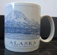 Starbucks Alaska City Mug EUC Architect Series Coffee