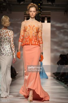 Georges Chakra show as part of Paris Fashion Week Haute Couture Spring/Summer 2015