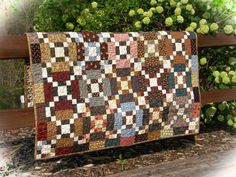Handmade Lap Quilt Throw Quilt   Agyle by TheLittleQuiltShoppe, $180.00