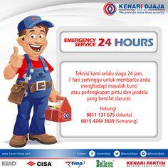 Kami Akan Selalu Melayani Anda dalam situasi dan keadaan apapun…. Silahkan Hubungi kami untuk pelayanan tercepat dan terbaik dari kami 24 jam non stop  Informasi Hub. : Ibu Tika 0812 8567 7070 ( WA / Telpon / SMS ) 0819 0506 7171 ( Telpon / SMS )  Email : digitalmarketing@kenaridjaja.co.id  [ K E N A R I D J A J A ] PELOPOR PERLENGKAPAN PINTU DAN JENDELA SEJAK TAHUN 1965  SHOWROOM :  JAKARTA & TANGERANG 1 Graha Mas Kebun Jeruk Blok C5-6 Telp : (021) 536 3506, Fax : (02..