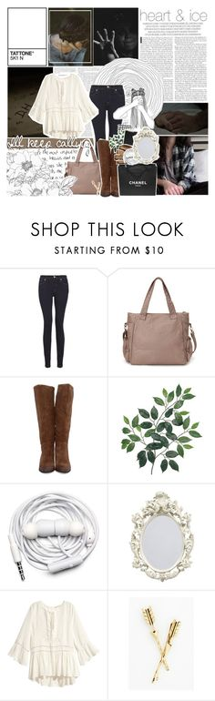 """""""Jen Meghan Hale"""" by x-jen-cozy-wolves-x ❤ liked on Polyvore featuring 7 For All Mankind, Forever 21, Polaroid, Chanel, Urbanears and H&M"""