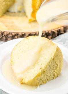 "Have you heard of Cake Gravy? No? Well, friends, you are absolutely 100% missing out! This luscious pourable ""gravy"" is a fun alternative to topping your cake other than classic frosting or powdered sugar glaze! You will be instantly hooked! 