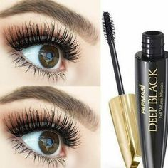 Security Check Required, The 10 Best Makeup (with Pictures) - Farmasi Deep Black mascara contains vitamin E and in addition to ordinary mascaras. This prevents your e. Farmasi Cosmetics, It Cosmetics Brushes, Health And Beauty Tips, Matte Lipstick, Vitamin E, Best Makeup Products, Eyelashes, Eye Makeup, Beauty Hacks