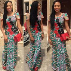 Catch Up With The Trend With These Ankara Styles - Wedding Digest Naija African Print Fashion, Africa Fashion, African Prints, Ankara Fashion, Fashion Dresses, Beautiful Ankara Styles, Beautiful Dresses, African Wear, African Dress