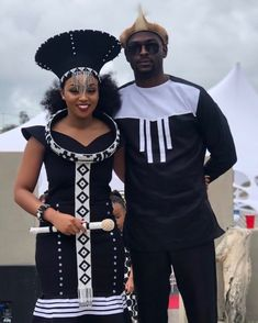 Traditional Dresses: South African 2019 stylish By Diyanu Zulu Traditional Attire, South African Traditional Dresses, Traditional Wedding Attire, Traditional Outfits, Traditional Weddings, African Print Dresses, African Print Fashion, African Fashion Dresses, South African Dresses