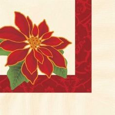 Botanical Poinsettia Paper Beverage Napkins 250 Per Pack by Hoffmaster. $14.39. Design is stylish and innovative. Satisfaction Ensured. Manufactured to the Highest Quality Available.. 250 Napkins per Pack. For over 60 years Hoffmaster has lead the industry in producing the most complete line of specialty disposable tabletop products. With innovation as the cornerstone of their success, Hoffmaster has always been the trend setter - setting the standard for color, fashion,... Beverage Napkins, Cocktail Napkins, Food Service Equipment, Color Fashion, Poinsettia, Tabletop, Christmas Holidays, Innovation, Success